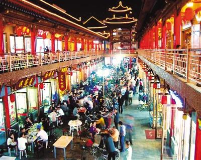 小吃街:嘴巴捧出来的旅游热点